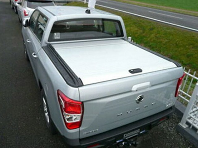 roll top cover silver