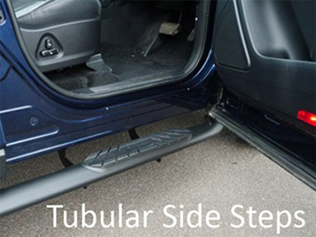 tubular side steps