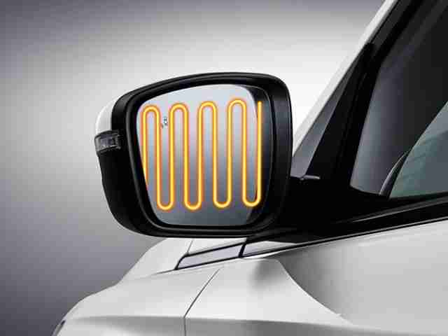 ssangyong korando heated side mirrors