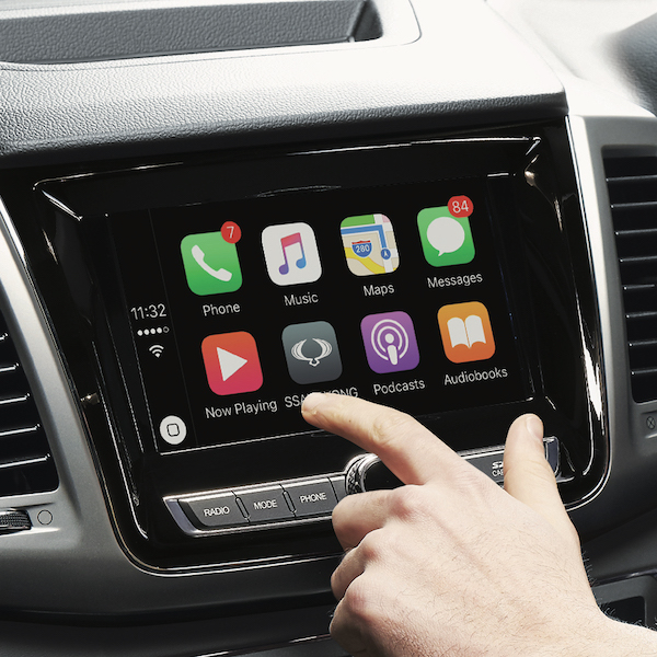 Musso Apple carplay LowRes