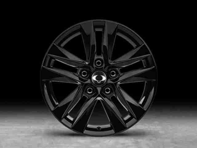 ssangyong musso 17 inch wheels 2
