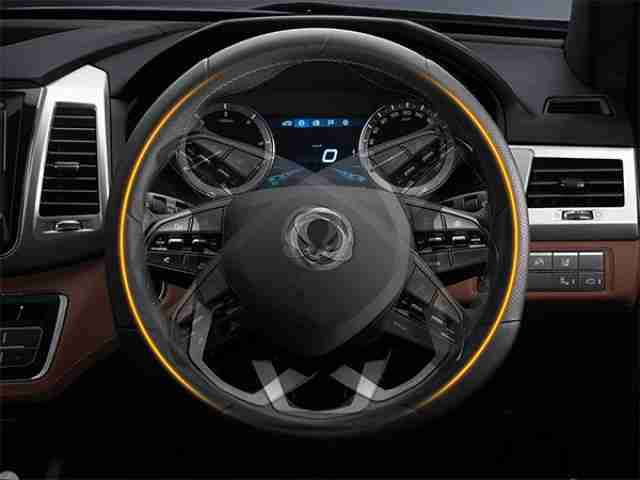 ssangyong musso heated steering wheel