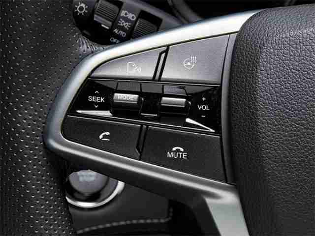 ssangyong musso wheel mounted audio