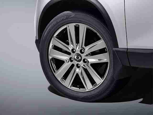 ssangyong musso tyre pressure