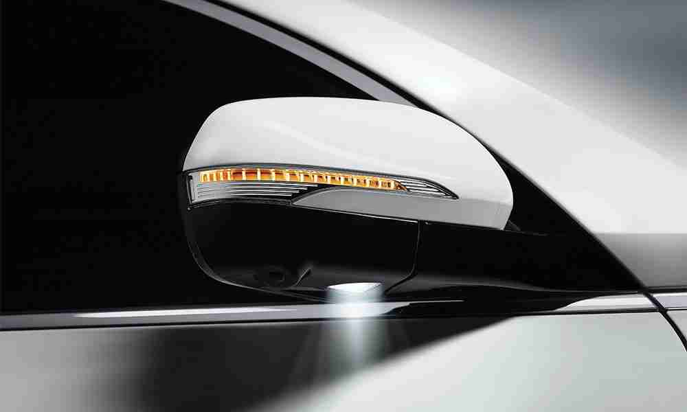 ssangyong rexton side mirror