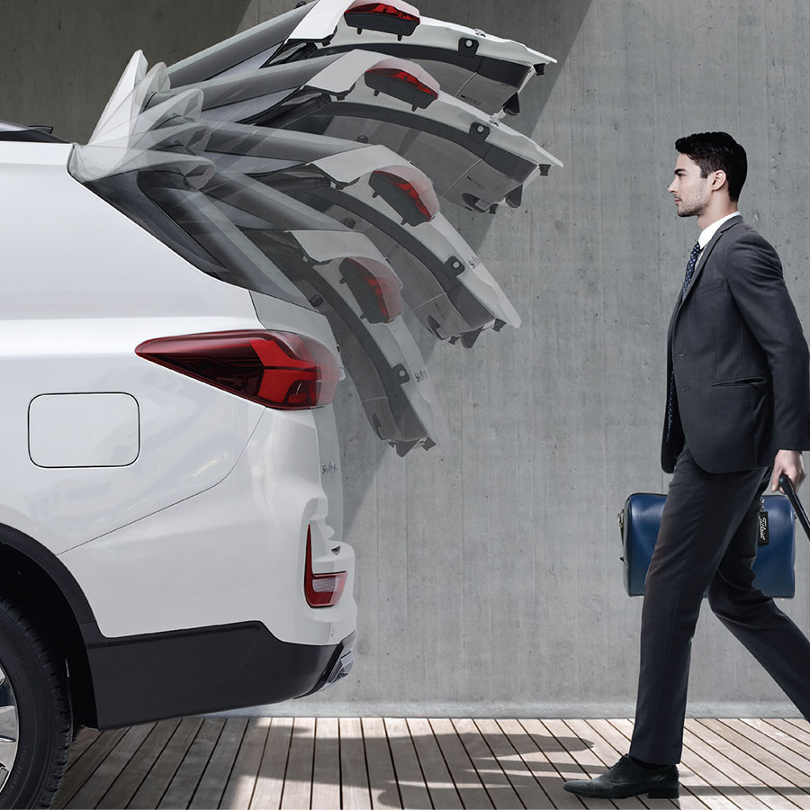 ssangyong rexton power tailgate