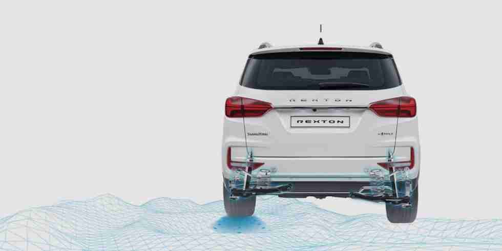 ssangyong rexton multi link suspension