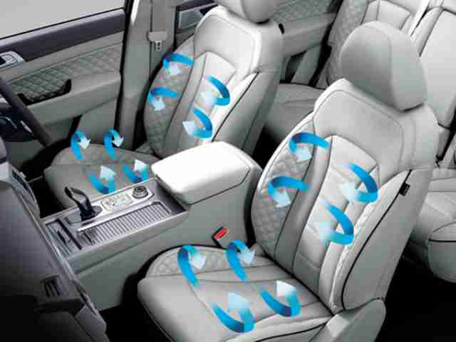 ssangyong rexton cool vented seats