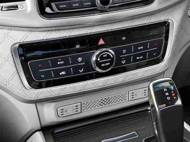 ssangyong rexton dual zone air conditioning