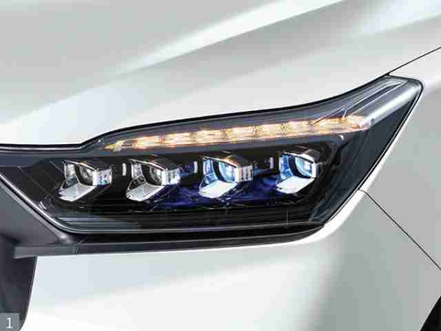ssangyong rexton led headlights