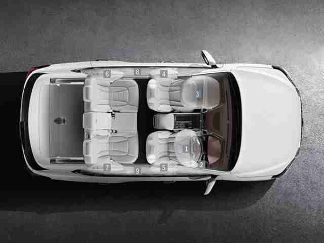 ssangyong rexton airbags