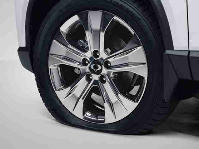 ssangyong rexton tyre pressure