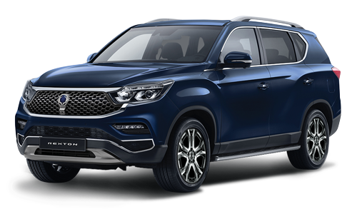 ssangyong rexton atlantic blue