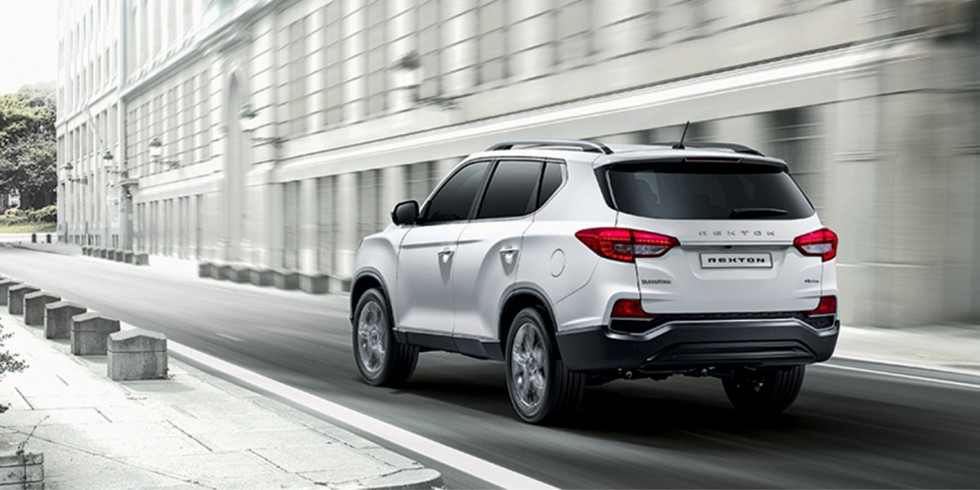 ssangyong rexton 4x4 on demand